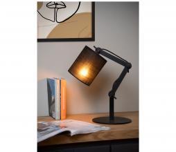 Afbeelding van product: Selected by Tampa tafellamp linnen/metaal zwart