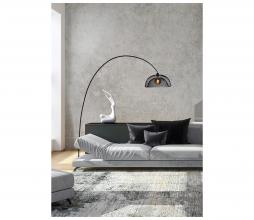 Afbeelding van product: Selected by Mesh vloerlamp Ø46 cm metaal zwart