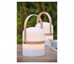 Afbeelding van product: Selected by Joe LED tafellamp (binnen-buiten) kunststof wit/naturel
