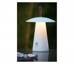 Afbeelding van product: Selected by La Donna LED tafellamp (binnen-buiten) aluminium wit