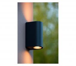 Afbeelding van product: Selected by Boogy wandlamp (binnen-buiten) aluminium antraciet
