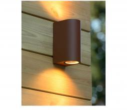 Afbeelding van product: Selected by Boogy wandlamp (binnen-buiten) aluminium roest bruin