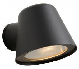 Afbeelding van product: Selected by Dingo wandspot (binnen-buiten) metaal zwart