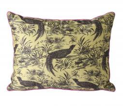 Afbeelding van product: HKliving Doris Jungle kussen 30x40 cm zijde multi