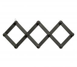 Afbeelding van product: WOOOD Levin gevouwen kapstok hout zwart