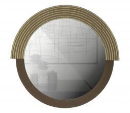 Afbeelding van product: WOOOD Hailey spiegel div. afmetingen naturel hout rond 57 cm