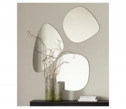Afbeelding van product: WOOOD Philou spiegel div. afmetingen metaal zwart 60x55 cm