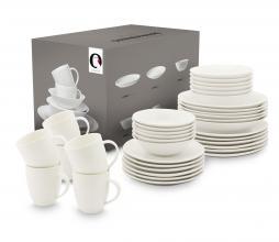 Afbeelding van product: vtwonen 36-delige serviesset porselein raw wit
