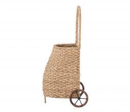 Afbeelding van product: Selected by Caitanya trolley rotan naturel