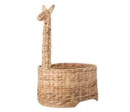 Afbeelding van product: Selected by Dinne opbergmand gevlochten waterhyacint naturel