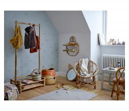 Afbeelding van product: Selected by Fritse opbergmand zeegras oranje/naturel