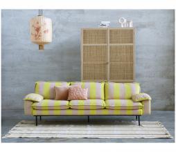 Afbeelding van product: HKLiving Retro opbergkast 200x125x40 cm webbing naturel