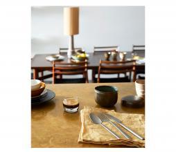 Afbeelding van product: HKLiving Cone lampenkap ø32cm zijde bruin