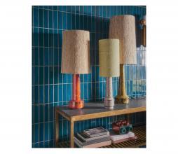 Afbeelding van product: HKLiving Cone lampenkap ø36cm zijde naturel