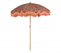 Afbeelding van product: HKLiving Doris parasol Ø200 cm vintage floral coral
