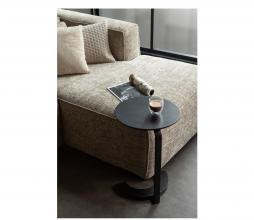 Afbeelding van product: WOOOD Floor bijzettafel hout/metaal zwart