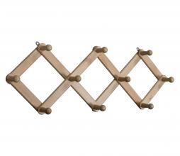 Afbeelding van product: WOOOD Levin gevouwen kapstok hout naturel