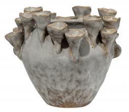 Afbeelding van product: BePureHome Pipe coral vaas keramiek naturel mix