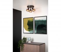 Afbeelding van product: Selected by Maren plafondspot 3x metaal zwart