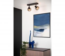 Afbeelding van product: Selected by Maren plafondspot 2x metaal zwart zwart