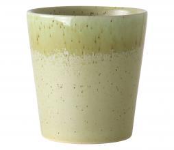 Afbeelding van product: HKLiving 70's koffie mok keramiek H8 ø7,5 pistachio
