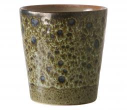 Afbeelding van product: HKLiving 70's koffie mok keramiek H8 ø7,5 vulcano
