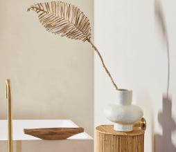 Afbeelding van product: Selected by Planta loco deco H 100 cm bananenblad naturel