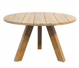 Afbeelding van product: WOOOD Abby ronde tafel Ø129 cm (binnen-buiten) acaciahout naturel
