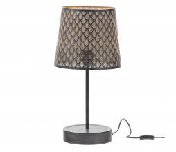 Afbeelding van product: WOOOD Exclusive Kars tafellamp metaal zwart/antique brass