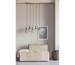 Afbeelding van product: BePureHome Sprinkle hanglamp 5 lampen metaal antique brass