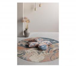 Afbeelding van product: BePureHome Bouquet kussen printed velvet 35x100 cm melon