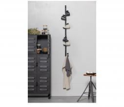 Afbeelding van product: WOOOD Marrit kapstok div. afmetingen hout zwart 5-haaks