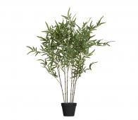WOOOD Bambusa kunstplant 100cm groen
