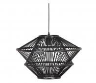 BePureHome Bamboo hanglamp bamboe zwart