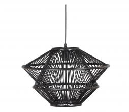 Afbeelding van product: BePureHome Bamboo hanglamp bamboe zwart