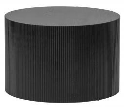 Afbeelding van product: WOOOD Sanne bijzettafel rond ø60 cm zwart