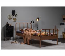 Afbeelding van product: WOOOD Mees bed 90x200 cm metaal syrup
