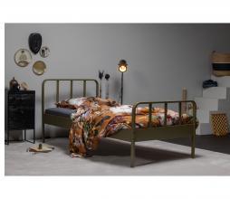 Afbeelding van product: WOOOD Mees bed 90x200 cm metaal army