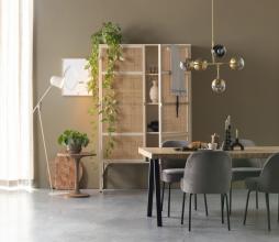 Afbeelding van product: Selected by Bicaba bijzettafel div. afmetingen hout bruin Ø50x55 cm
