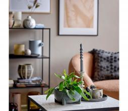 Afbeelding van product: Selected by Adiva kussen 45x45 cm katoen grijs