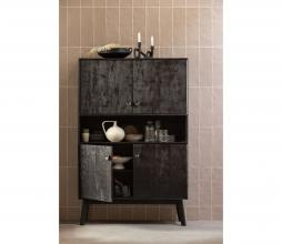 Afbeelding van product: Selected by Espita kast 158x104x40 cm hout zwart