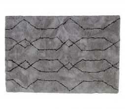 Afbeelding van product: WOOOD Nové vloerkleed div. afmetingen lichtgrijs/zwart 170x240 cm