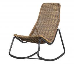 Afbeelding van product: WOOOD Tom schommelstoel (binnen-buiten) rattan naturel