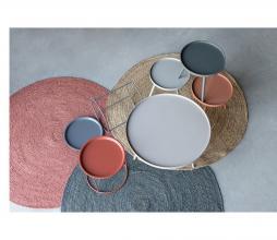 Afbeelding van product: WOOOD Sasha bijzettafel Ø41cm brick red