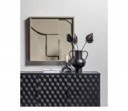 Afbeelding van product: WOOOD Exclusive Vere vaas metaal zwart 28 cm