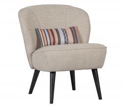 Afbeelding van product: Lonneke fauteuil met key piece kussen naturel