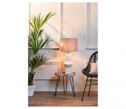 Afbeelding van product: Selected by Ayla lampenvoet div. afmetingen keramiek créme H 51xØ18,5cm