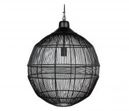 Afbeelding van product: WOOOD Exclusive Enes hanglamp Ø50cm metaal zwart