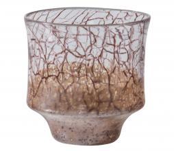 Afbeelding van product: BePureHome Grain vaas glas bruin