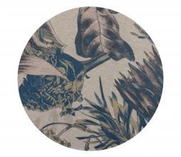 Afbeelding van product: BePureHome Bouquet rond vloerkleed printed Ø200 cm milk milk